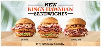 new king 8217 s hawaiian sandwiches