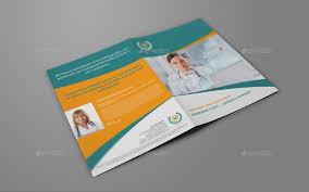 2 folded brochure template 2 fold brochure template hospital bi fold brochure template vol2