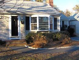 bay windows on cape cod house - Google Search | Living Rooms | Pinterest | Bay  windows, Cod and House