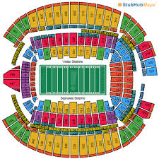 Seattle Seahawks Stadium Seating Chart Rows Centurylink Field Mapa Asientos Imagenes Direcciones Y