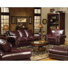 Leather Living Room Chairs Franklin Leather Living Room Furniture Khabarsnet