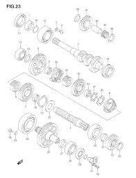 Suzuki atv parts diagram new 2005 suzuki king quad 700 lt a700x transmission 2 parts best
