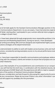 Applying For Internal Position Internal Job Application Cover Letter Formatted Templates Example