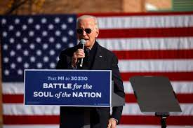 Biden, on Third Try, Aims for Summit of US Political Life