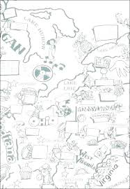 Coloring Map Of The Us Zupa Miljevcicom