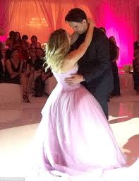 sweet moment the couple shared an intimate at the reception