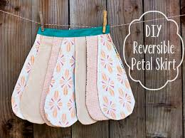 Free Skirt Patterns Magnificent DIY Reversible Petal Skirt Free Pattern Pretty Prudent