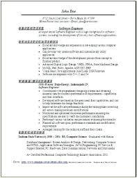 Software Engineering Resume Example Sample Hardware Engineer Cover Letter Associate Software Engineer