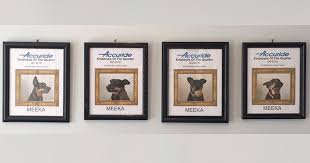 Employee Of The Month Photo Frame Dog Has Won All Best Employee Awards Since Dad Started Working