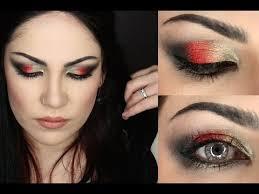 better together kat von d too faced smokey metal makeup tutorial