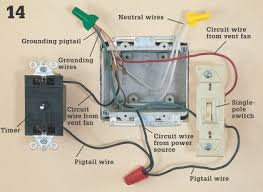 wiring a fan timer car wiring diagram download tinyuniverse co Manrose Fan Timer Wiring Diagram how to install a bathroom vent fan home improvement and repair wiring a fan timer bathroom vent fans manrose extractor fan with timer wiring diagram