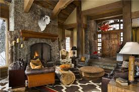 Rustic Interior Design Ideas Open Countryrustic Living Room By Jerry Locati