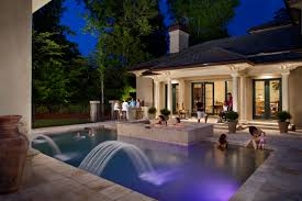 outdoor lighting perspectives augusta pool party
