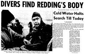Image result for 1967, soul music legend Otis Redding is among seven killed in a plane crash near Madison, Wisconsin.