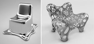 furniture futuristic. Futuristic Furniture Made Of Metal