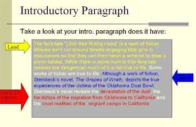 how to write a intro paragraph for an essay here is a short example of an introductory paragraph