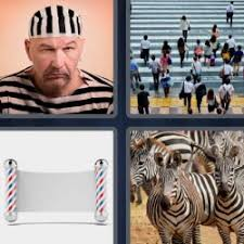 4 pics 1 word 7 letters level 3973 striped