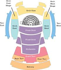 Glen Helen Amphitheater Seating Chart Disney Hall Seating Chart