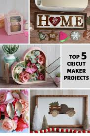 top 5 cricut maker projects everyday