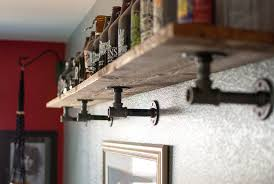 steel piping example growler shelf diy bring on the steel rugged jewelry stands for your metal