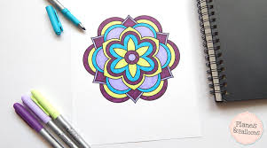 coloring pages all for free easy mandalas to color 10