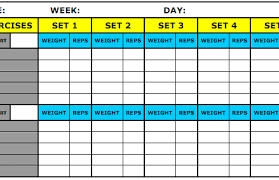 workout excel templates 8 best workout log templates for excel and word templates guider