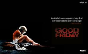 Black Jesus Quotes Impressive Good Friday Quote In Black Background With Jesus On Cross