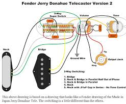 jerry donahue telecaster wiring red herring tone bones 5 way switching