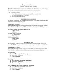 compare and contrast essay for college comparing and contrasting essay example college comparison essay