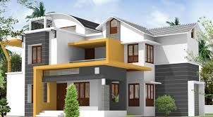 exteriors on indian home design modern exterior and exterior home painting pictures kerala min