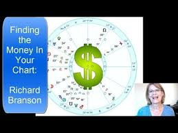Astrology Finding Money In Your Chart Using Richard Branson Horoscope Example