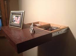 Desks Nightstand With Locking Secret Hidden Drawer Hidden