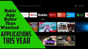 Rokkr For android Tv and Tv Box Better than Watched apk - YouTube