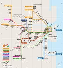 cityrail sydney metro map australia