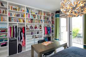 Robeson Design Girls Bedroom Closet Storage Ideas For American