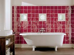 Free Bathroom Design Online With Romantic Pink Wall Tile Color And ...