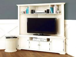 Charming Corner Tv Cabinet With Doors At Excellent Stunning White ...