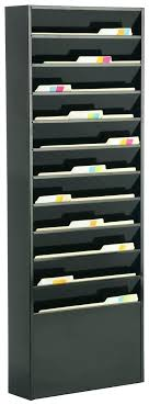 wall file rack wall file folder organizer tiered wall file holder fits letter sizes steel black wall file rack
