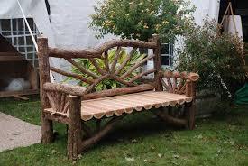millbrook sunburst bench