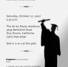 Templates For Graduation Invitations Free Graduation Invitation Templates 650 637 High School