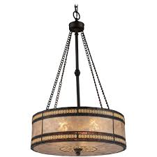drum pendant light with beige mica shade in bronze finish pics on captivating mica pendant