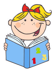 learning cartoon clipart image clip art cartoon of a happy smiling little reading