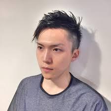 メンズカットお客様ヘアスタイル 札幌美容室meikaスタイリスト