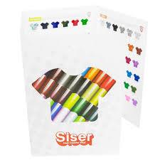 Siser Color Chart Siser Heat Transfer Materials Color Guide