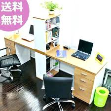 60 inch computer desk natural maple unit origami second foldable