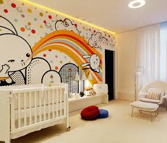 attractive baby room design featuring natural brown cherry wood cribs and small orange rug above solid baby nursery baby nursery furniture designer baby nursery