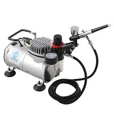ophir 2 airbrush spray paint with 110v 220v pro air compressor for cake hobby cake decoration cake paint ac089 ac004 ac074 in art sets from office