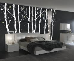 birch-tree-forest-decal-with-snow-and-birds- & Birch Tree Winter Forest Vinyl Wall Decal www.pureclipart.com
