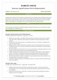 Customer Services Resume Inspiration Resume Objective For Customer Service Representative Skills Resumes