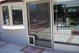 dog door for storm screen doggie doors patio amazing french doors with screens
